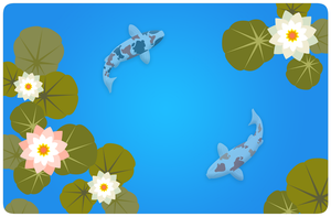 Koi Pond by Andrew-Graphics