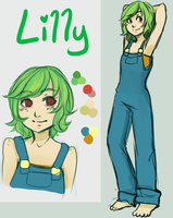 SCI: Lilly Grenouille Ap by RedReveries