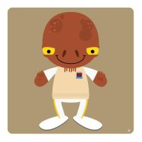 admiral ackbar by striffle