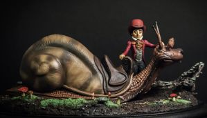 The Neverending Story Teeny Weeny Racing Snail by yotaro76