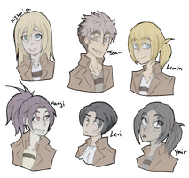 SNK Headshots by GeckoSpine