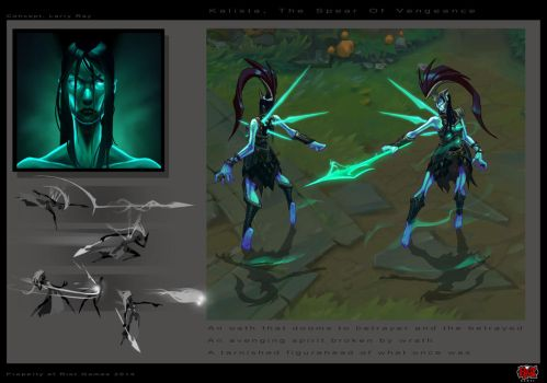 Kalista, The Spear of Vengeance by The-Bravo-Ray