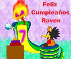 Cumple Raven 2015 by Quilmer