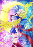 Crescent Moon Crystal by ParallelPenguins