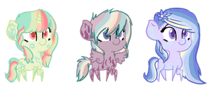 MLP mistery RARE eggs reveladed! by Points-adoptables-4U