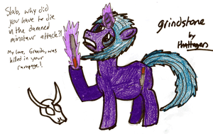 Thatta's Dwarf Fortress Pony by brokenhero0409