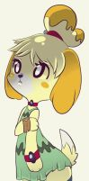 Isabelle ACNL by CoffeeChicken
