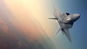 F-22 over the top by InvertedVantage