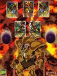 Summoning Cards 10 : Exodia The Forbidden One by ALANMAC95