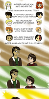 Crossover Time: Katniss and Arya by Regendy
