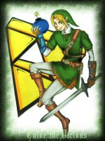Link The Savior by ColorMeVicious