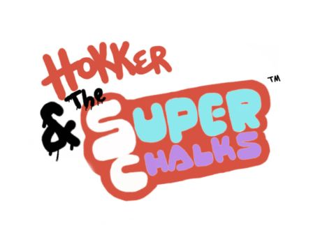 Hokker and the Super Chalks new logo by ZakhrieZtoons