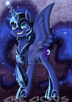 Nightmare Moon by Crecious