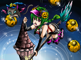 wat a night-Kiseki Halloween by shrimpHEBY