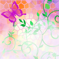 Butterfly Icon for a friend by CandyKitttyGoesMeow
