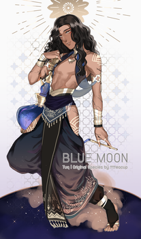 [ CLOSED ] Tuq : Blue Moon by RNbeammer