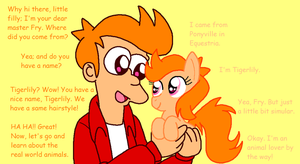 Fry's Little Pony by HeartinaThePony