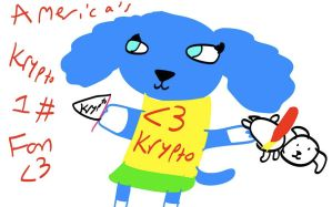World's Biggest Krypto Fan! by DixieDevated