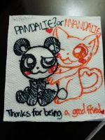 Pandalie or Nyandalie? - Happy Thanksgiving! by MsChapstick