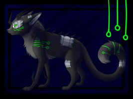Robotic Cat AUCTION :CLOSED: by Savannah-Nanna