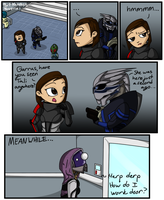 Mass Effect Outtakes by UnperfectStranger