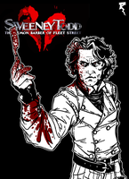 Sweeney Todd by Tikay77