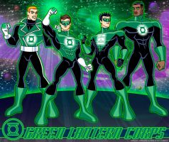 Green Lantern Corps-Animated by Boy-Meets-Hero