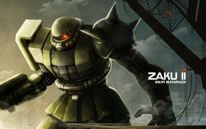 ZAKU-II by REAL-ELMARIACHI