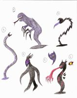 Shadow Creatures by dragonelf213