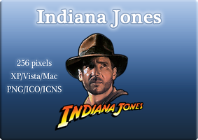 Indiana Jones by linkdragon