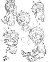 Sketch 05292015 Kid by ProjectHalfbreed