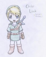 Chibi Link Twilight Princess by royLeingod