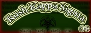 Rush Kappa Sigma by er111a