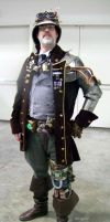 Steampunk Cmdr. Whiskey N Triton at Wonder Con '11 by SurfTiki