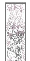 WIP - Villian in Glasses by QubicMunchies