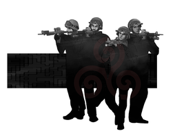 the Hale Pack Swat Team by maxineha