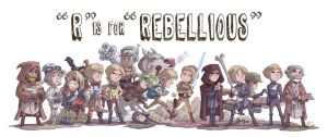 R Is For Rebellious by OtisFrampton