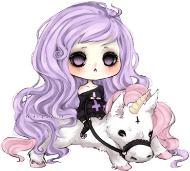 Pastel Goth by DrawKill