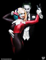 Suicide Squad - Joker/Harley Alex Ross Tribute by Bryanzap
