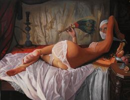 Odalisque - work in progress by borda