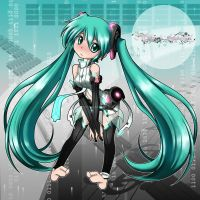 Miku Hatsune Append by qrullgx13