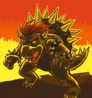 B is for Bowser by thenumber42