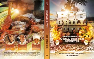 The Big Grill Off DVD Artwork Template by loswl
