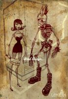 Punk Zombie, Undead Doll... by LOKEONE