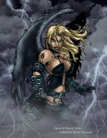 Angel of the Storm by VenneccaBlind