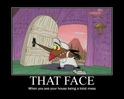 Angry Beavers Motivational Poster 3 by CartoonAnimes4Ever