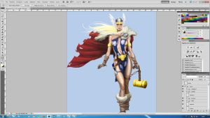 Tarene the Thor Girl [step7] by aRmydesigner