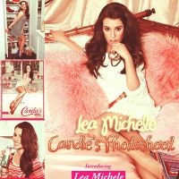 Pack Lea Michele Candie's Photoshoot by Mariegleetwilight