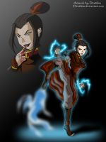 Azula, Queen of evil by Niban-Destikim