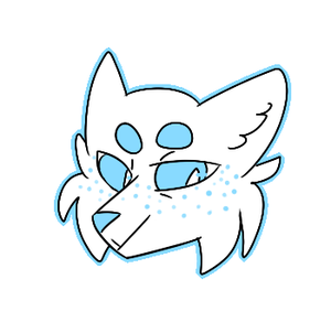(2016) arctic fox icon by Solnc